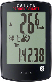CatEye Padrone Smart Wireless Cycling Computer, Computer Only: Black