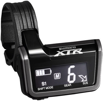 Shimano XTR SC-M9051 Di2 Digital Display Unit, Junction Box with 3 E-Tube Ports and Charging Port