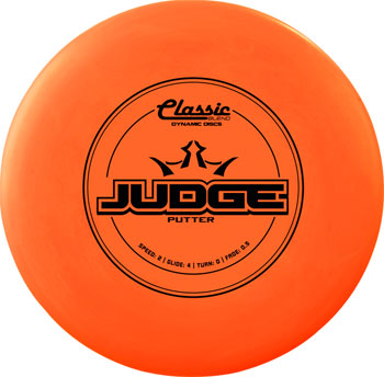 Dynamic Discs Judge Classic Soft Golf Disc: Putter Assorted Colors