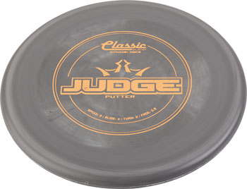 Dynamic Discs Judge Classic Blend Golf Disc Putter: Assorted Colors