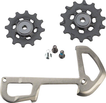 SRAM XX1 Eagle Ceramic Bearing Pulleys and Grey Inner Cage