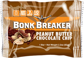 Bonk Breaker Energy Bar: Peanut Butter Dark Chocolate Chip, Box of 12