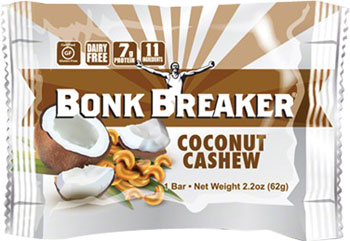 Bonk Breaker Energy Bar: Coconut Cashew, Box of 12