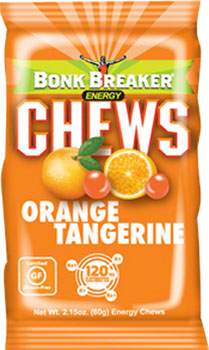 Bonk Breaker Energy Chew: Tangerine Orange, Box of 10