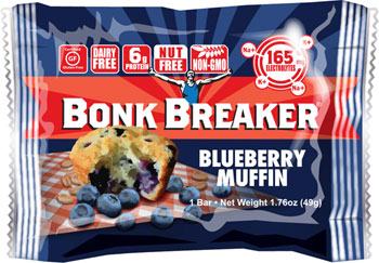 Bonk Breaker Energy Bar: Blueberry Muffin, Box of 12