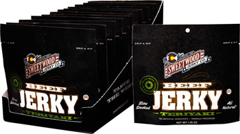 Sweetwood Cattle Co. All-Natural Jerky: Teriyaki, Box of 12