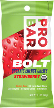 ProBar Bolt Chews: Strawberry, Box of 12