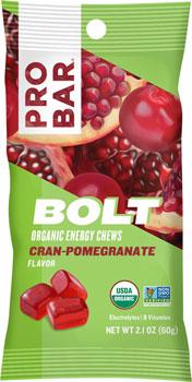 ProBar Bolt Chews: Cran-Pomegranate, Box of 12