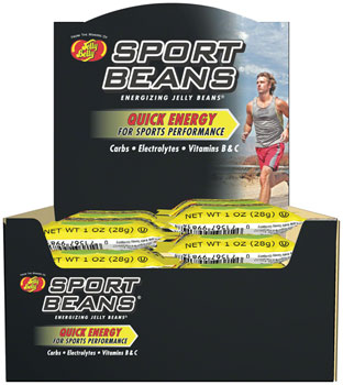 Jelly Belly Sport Beans: Juicy Pear, Box of 24