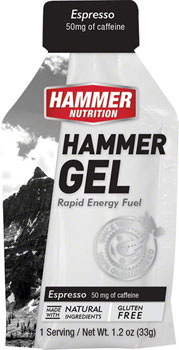 Hammer Gel: Espresso, 24 Single Serving Packets