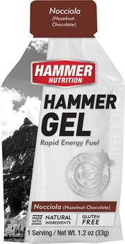 Hammer Gel: Hazelnut Chocolate, 24 Single Serving Packets