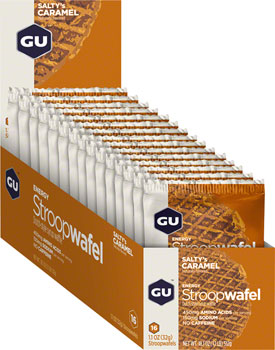 GU Stroopwafel: Salty's Caramel, Box of 16