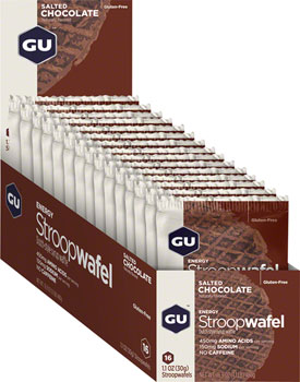 GU Stroopwafel: Salted Chocolate, Box of 16