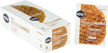 GU Stroopwafel: Coconut, Box of 16