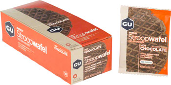 GU Stroopwafel: Hot Chocolate, Box of 16