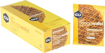 GU Stroopwafel: Gingerade, Box of 16