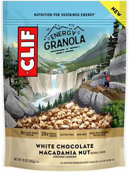 Clif Energy Granola: White Choc Macadamia, 10oz Bag