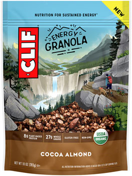 Clif Energy Granola: Cocoa Almond, 10oz Bag