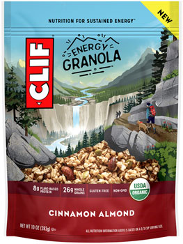 Clif Energy Granola: Cinnamon Almond, 10oz Bag