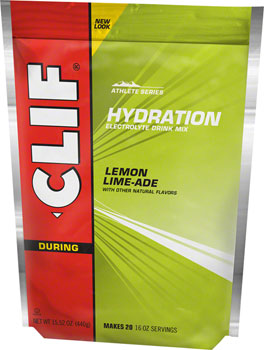 Clif Shot Hydration Drink Mix: Lemon-Lime 20 serving Pouch