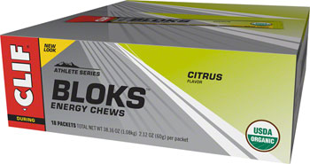 Clif Shot Bloks: Citrus Box of 18