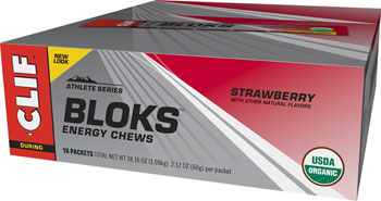 Clif Shot Bloks: Strawberry Box of 18