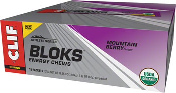 Clif Shot Bloks: Mountain Berry Box of 18