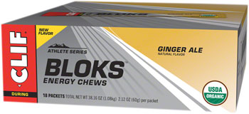 Clif Shot Bloks: Ginger Ale, Box of 18