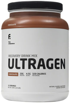 First Endurance Ultragen Recovery: Chocolate 15 Serving Canister