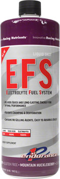 First Endurance EFS Liquid Shot Refill:  Mountain Huckleberry 32oz