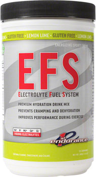 First Endurance EFS Drink Mix: Lemon Lime 25 Serving Canister