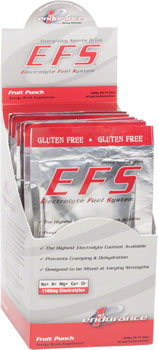 First Endurance EFS Drink Mix: Fruit Punch 10 Single Serving Packets