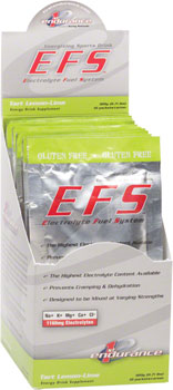 First Endurance EFS Drink Mix: Lemon Lime 10 Single Serving Packets
