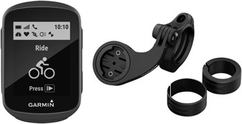 Garmin Edge 130 GPS Cycling Computer Mountain Bike Bundle: Black