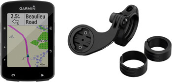 Garmin Edge 520 Plus GPS Cycling Computer Mountain Bike Bundle: Black
