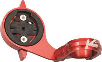 K-EDGE TT Mount for Garmin Edge and Forerunner Quarter Turn Type Computers, 22.2mm, Red