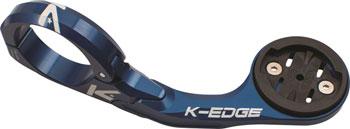 K-EDGE Pro Garmin XL Handlebar Mount: 31.8mm, Blue