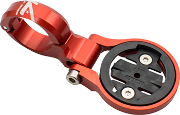 K-EDGE Garmin Sport TT/Aero Handlebar Mount: 22.2mm, Red