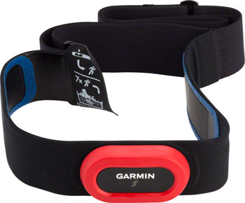 Garmin Heart Rate Monitor HRM-Run With Running Dynamics: Black And Red