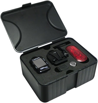 Lezyne Micro Color GPS Loaded Bike Computer - GPS, Wireless, Heart Rate Monitor, Speed, Cadence, Black