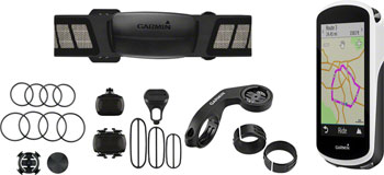 Garmin Edge 1030 GPS Cycling Computer Bundle: Black