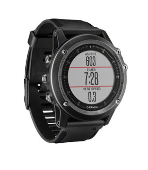 Garmin Fenix 3 HR Training Watch Performer Bundle Including HRM-Run Monitor Gray/Black