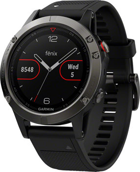 Garmin Fenix 5 Multisport GPS Watch: Slate Gray/Black