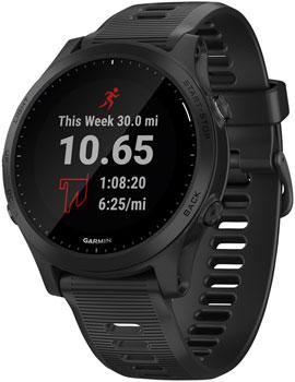 Garmin Forerunner 945 Wi-Fi GPS Running Watch: Black