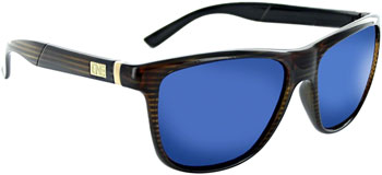5575ce8379a ONE Hobnob Polarized Sunglasses  Shiny Driftwood Demi with Polarized Brown  and Blue Mirror Lens Bikeman Product Code  EW4277
