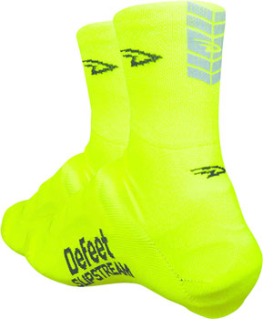 DeFeet Slipstream Shoe Cover: Neon Yellow LG/XL