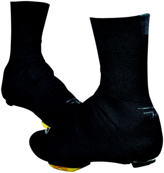 "Defeet Slipstream Strada Shoe Cover: 5"" Black LG/XL"