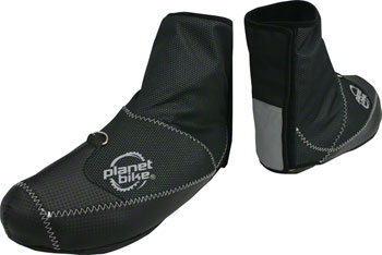 Planet Bike Blitzen Windproof  Shoe Cover: Black, XL