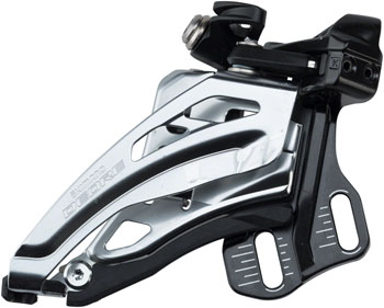 Shimano Deore M618-D 10-Speed Double Down-Swing Dual-Pull Direct-Mount