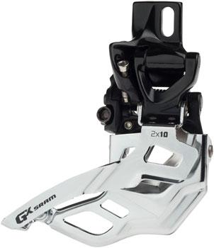 SRAM X0 Front Derailleur 2x10 Lo Clamp 34.9mm Bottom Pull